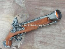 Replica 18th Century English Flintlock Pirate Blunderbuss Non-Firing Replica