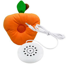 Newest Mini White 3.5mm Pillow Speaker for MP3 MP4 Player Phone CD Radio