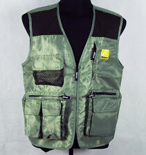 Water-proof Pro Photographer Vest of Nikon Free shipping military color
