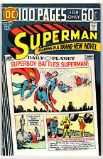 SUPERMAN #284 7.0 CREAM TO OFF-WHITE PAGES BRONZE AGE