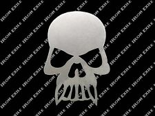 Skull 04 Metal Stencil Wall Art Garage Hot Rat Rod Motorcycle Chopper Kustom