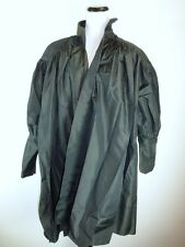 VINTAGE NORMA KAMALI BLACK DRESS COAT DUSTER DRAPED LAGENLOOK RARE
