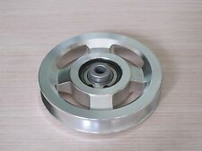Universal 114mm Aluminium Alloy Bearing Pulley Wheel Cable Gym Equipment Part