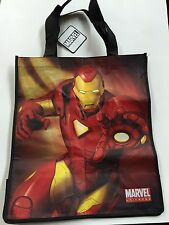 TOTE BAG REUSABLE MARVEL IRONMAN GROCERY SHOPPING SCHOOL & TOYS