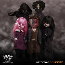 Living Dead Dolls Series 31 complete set of 5 mint in box