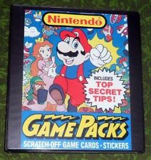 Nintendo Trading Card Set - Super.Mario.Bros.Legend.Zelda.Link.Princess.Peach