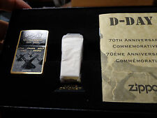 D-DAY WWII 70TH ANNIVERSARY ZIPPO LIGHTER COMMERORATIVE SET LIMITED ED #6330