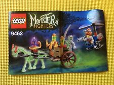 New Lego Instruction Manual ONLY Monster Fighters The Mummy 9462