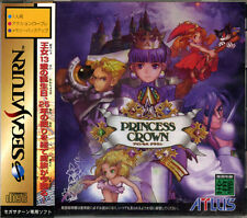 (Used) Sega Saturn Princess Crown [Japan Import]