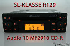 Mercedes autoradio SL-clase r129 w129 CD-R radio audio 10 CD mf2910 original