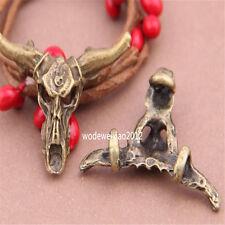 5pc Antique Bronze Charms tauren Pendant Accessories Bead wholesale PL362
