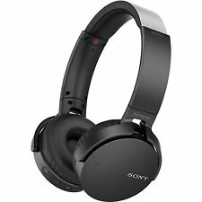 Sony MDR-XB650BT EXTRA BASS Wireless Headphones with Bluetooth and NFC (Black) S