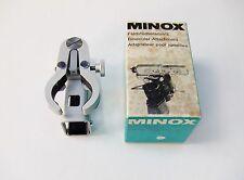 Minox Binoculares Abrazadera + Caja para Minox B, C, etc.