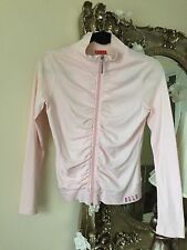 ELLE Ladies Pink Sports Zipped Casual Jacket Size 10