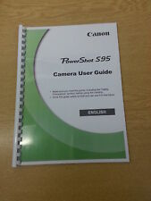 CANON POWERSHOT S95  FULL USER MANUAL GUIDE INSTRUCTIONS  PRINTED 194 PAGES A5