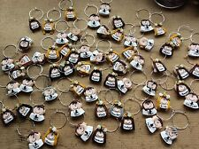 wedding wine charms favours Handmade Party Personalised Each Wine Glass names