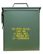 US Army Munitions Kiste AMMO BOX STEEL Behälter oliv