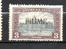 Fiume : 1918 3 Kr. ( MH )