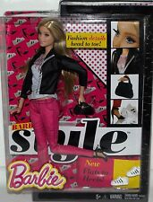 ORIGINAL NIB BARBIE DOLL STYLE COLLECTION, FASHION BOOK, CLOTHES, NOT IN STORES