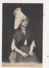 Coiffure de Basse Normandie Vintage Postcard France 612a