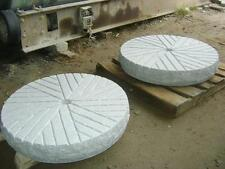 GRANITE MILLSTONES!!! WOW!!  $677 each