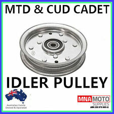 FLAT IDLER PULLEY FOR SOME MTD & CUB CADET RIDE ON MOWERS  OEM 756-04129