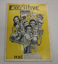 Government Executive Magazine Postal Service October 1974 FAA 110216R
