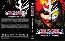 DVD BLEACH COMPLETE COLLECTION (EPS 1- 366 END) 2 BOXSET ~ ENGLISH VERSION & SUB