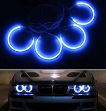 4x CCFL Angel Eyes Halo Rings Blue Light Kit for BMW E36 3 E39 5 E38 7 E46 M3