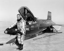 Historical Photo of NASA Neil Armstrong &  X-15 Rocket Plane # 56-6670 8x10