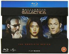 Battlestar Galactica Complete Series BLU-RAY Box Set Razor Box damage