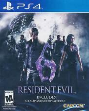 Resident Evil 6 PS4 Game NEW (English Portuguese Spanish French German Russian)