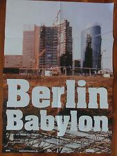 Hubertus Siegert BERLIN BABYLON Plakat Kinoplakat Einstürzende Neubauten