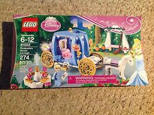New in Unopened Box Jan. 2014 Lego Disney 41053 Cinderella's Dream Carriage