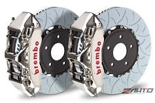 Brembo Front GT Brake 6Pot Caliper GT-R 350x34 Type3 Slot Disc Impreza STi 05+