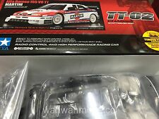 Tamiya 1:10 TT-02 Alfa Romeo 155 V6 TI Martini ESC EP RC Car Touring Kit #58606