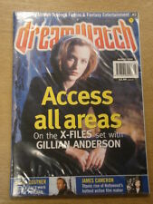 DREAMWATCH #43 1998 MAR VF US MAGAZINE X-FILES KEVIN COSTNER JAMES CAMERON
