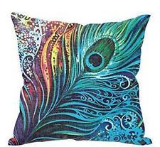 Peacock Sofa Bed Home Decor Pillow Case Cushion Cover A1