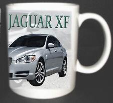 Jaguar Xf Coche Clásico Taza Edición Limitada Gran Regalo Coche Deportivo De Lujo