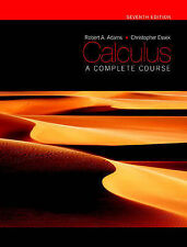 Calculus: A Complete Course by Robert A. Adams, Christopher Essex (Hardback,...