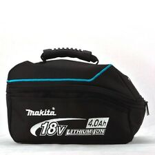 MAKITA 18V Lithium-Ion 4.0Ah Battery Shaped Lunch Food Drink Cool Bag Tool Work