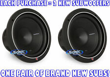 "2) Rockford Fosgate P2D2-10 600W 10"" Punch Stage 2 Dual 2 ohm Car Subwoofers"
