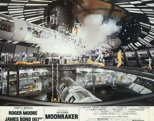 ROGER MOORE MOONRAKER JAMES BOND 007 1979 VINTAGE LOBBY CARD #5