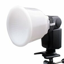 Universal Cloud lambency flash diffuser + White dome Cover  fits All Flashe