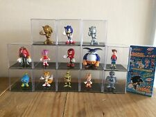 Sonic The Hedgehog Figure Set New Complete Japan Sonic X Knuckles Chao Plush