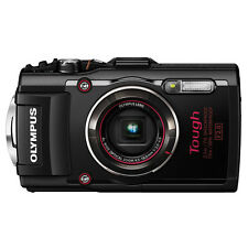 New Olympus Stylus Tough TG-4 16MP Waterproof Digital Camera Black +Free Express