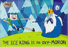 Adventure Time with Finn and Jake ~ The Ice King is an Oxy-Moron Magnet Licensed