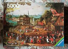 Ravensburger 5000 piece Puzzle - Country Fair - 1979 - Extremely Rare !!