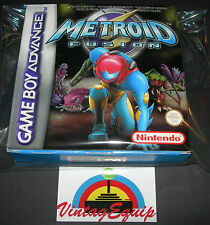 METROID FUSION GAMEBOY ADVANCE PAL VERSION GAME NEVER USED COMPLETE VERY RARE