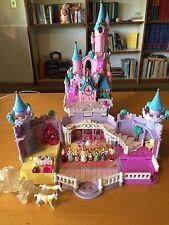 1995 Vintage Polly Pocket Disney Cinderella's Enchanted Castle - 100% COMPLETE